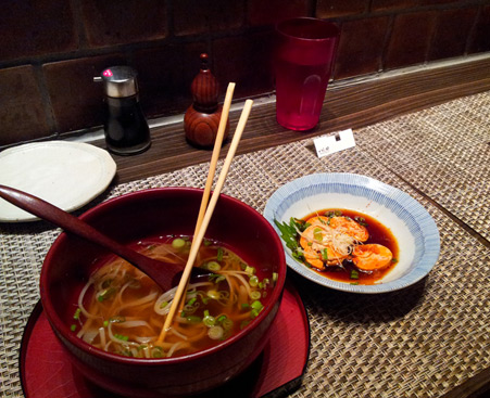 Udon and Ankimo